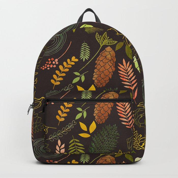 My favorite color is october- autumnal leaves pattern Backpack