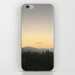 White mountains iPhone Skin