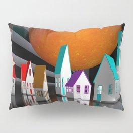 a seamless geometric horizon -3- Pillow Sham