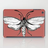 moth iPad Cases featuring Moth  by Aubree Eisenwinter