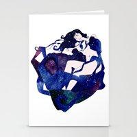celestial Stationery Cards featuring Celestial by Stevyn Llewellyn