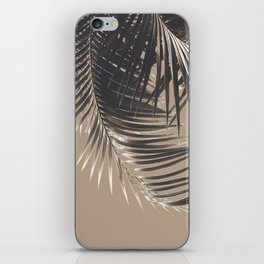 Palm Leaves Sepia Vibes #2 #tropical #decor #art #society6 iPhone Skin
