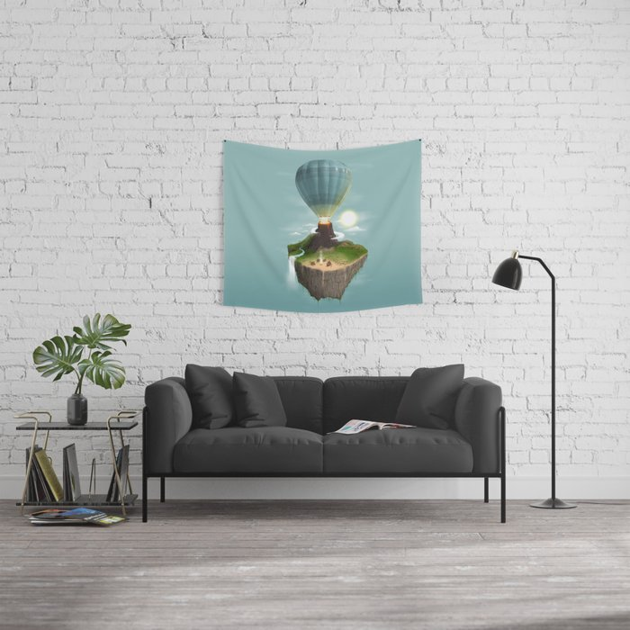 Tropical Escape Wall Tapestry