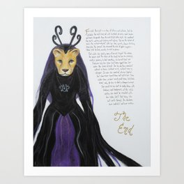 Lelekata Art Print