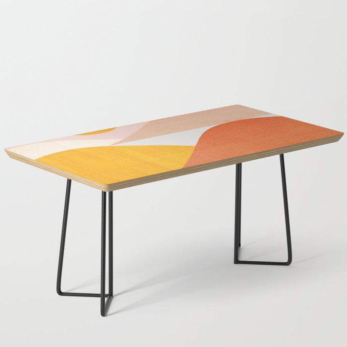 Abstraction_Mountains Coffee Table