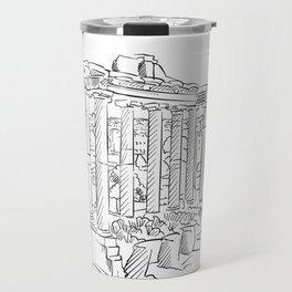 Ancient Rome roman forum Travel Mug