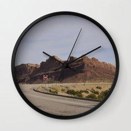 Crow's Home Wall Clock