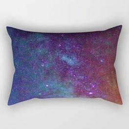 Warm Galaxy (Color) Rectangular Pillow