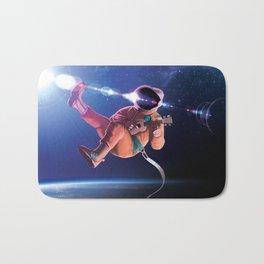 Space Uke  Bath Mat