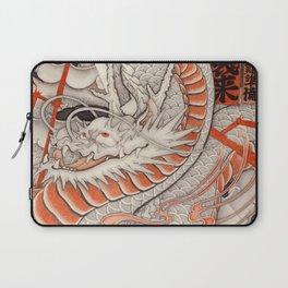 Japanese tattoo Typhoon dragon Laptop Sleeve