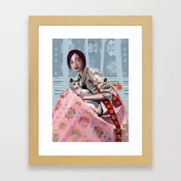 conquer Framed Art Print