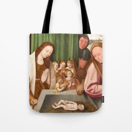 Nativity Painting - 16th Century Tote Bag