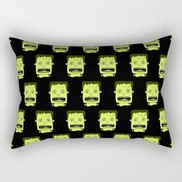 Frankenstein Pattern Rectangular Pillow