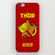 Asgardian Revolution: THOR iPhone & iPod Skin