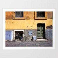 Old Trastevere Art Print
