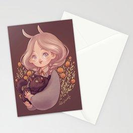 Bunny & Cat Stationery Cards