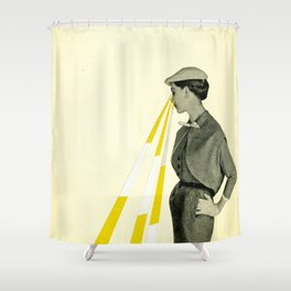 Observing Shower Curtain