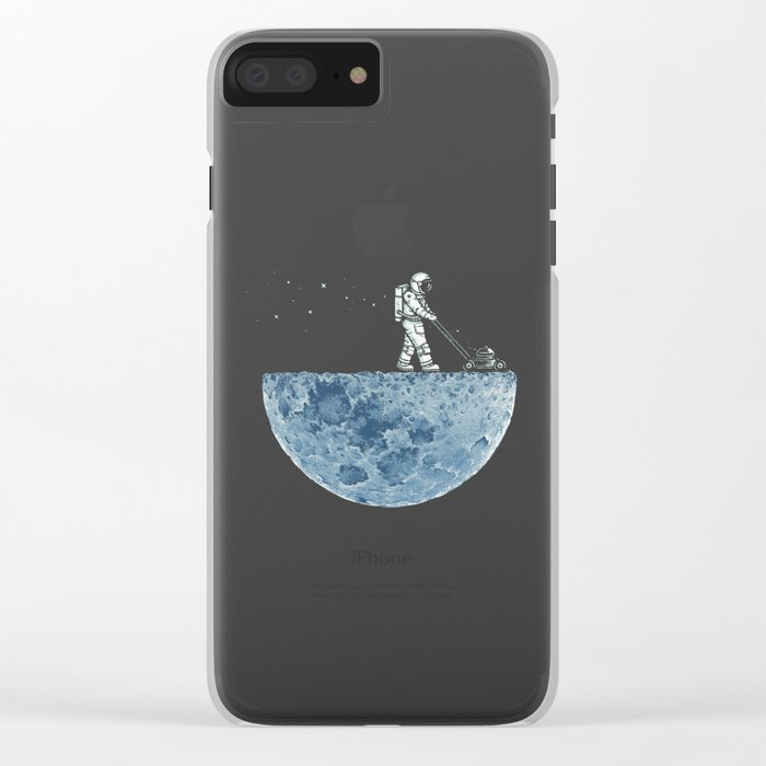 Mown Clear iPhone Case