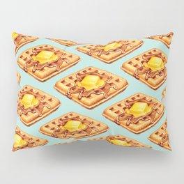 Waffle Pattern Pillow Sham