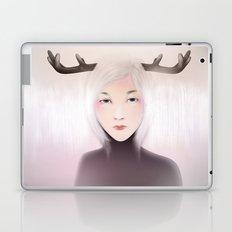 women_deer Laptop & iPad Skin