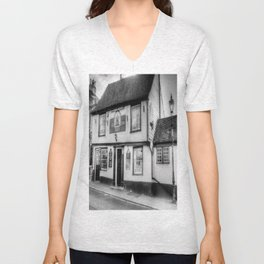 The Coopers Arms Pub Rochester Unisex V-Neck