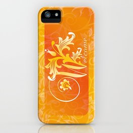 WELCOME iPhone Case