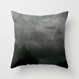 beauty in the mundane - texas storm Throw Pillow