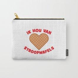 Ik Hou Van Stroopwafels Carry-All Pouch