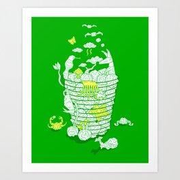 Ideas Never Die Art Print