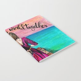 Lets Travel the World Together Notebook