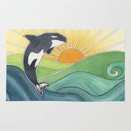 Westcoast Orca Rug