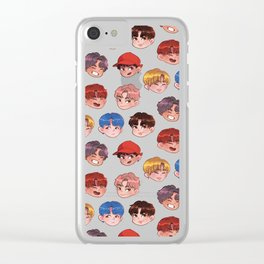 BTS - DNA Clear iPhone Case