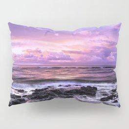 Purple Sunrise, Poipu Beach, Kauai, Hawaii Pillow Sham