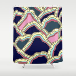 mountains #01 Shower Curtain