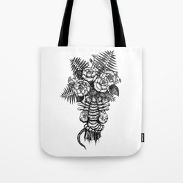 Facehugger Bouquet Tote Bag