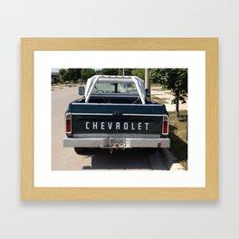 Chevy Framed Art Print