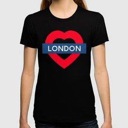 London Underground - Heart T-shirt