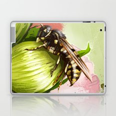 Wasp on flower 6 Laptop & iPad Skin