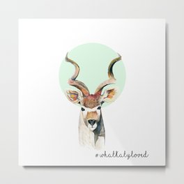 The Kudu  Metal Print