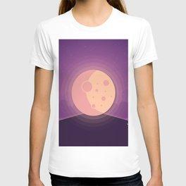 Night time full moon T-shirt