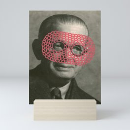 The Crochet Family 002 Mini Art Print