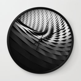 Geometric Swirl Designs Geometric Abstract Wall Clock