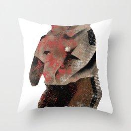 Rick Bear Throw Pillow