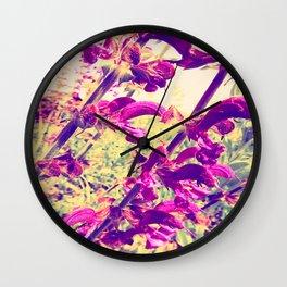 wild sage Wall Clock