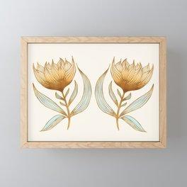 Bohemian Sunflowers II Framed Mini Art Print