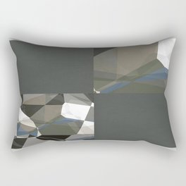 Abstract Polygons 214 Blank Design Rectangular Pillow