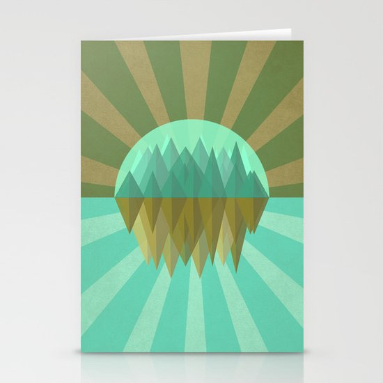 Rocks rock Stationery Cards