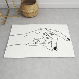 Snap Out of It Rug
