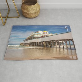 Daytona Pier Joe's Crab Shack Rug