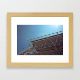 Not so distant Framed Art Print